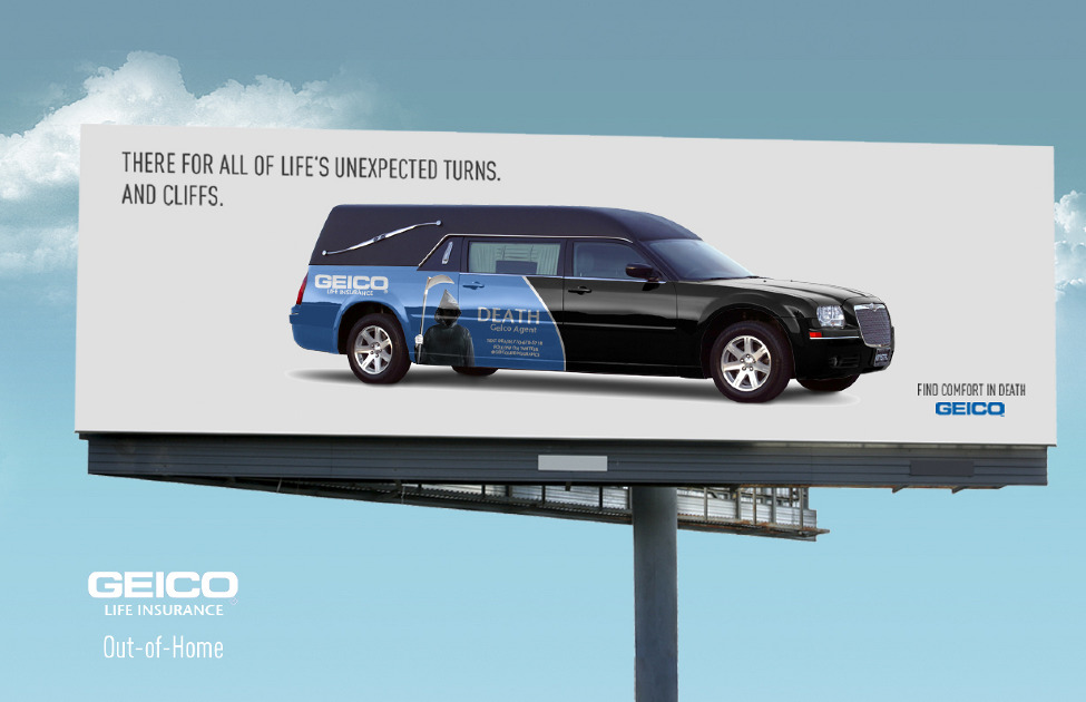 The Gallery For Geico Billboard