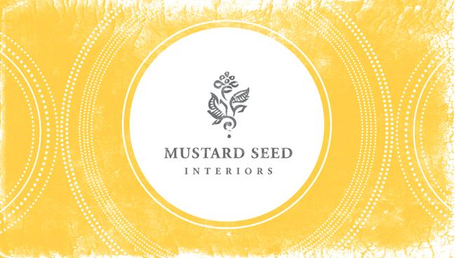 Mustard seed interiors identity laura dreyer - Mustard seed interiors ...