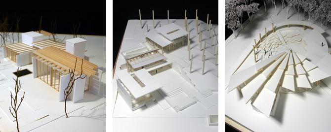 Teach maparch for Pavilion concept architecture