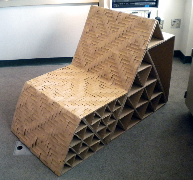 Cardboard Chair Danni Design