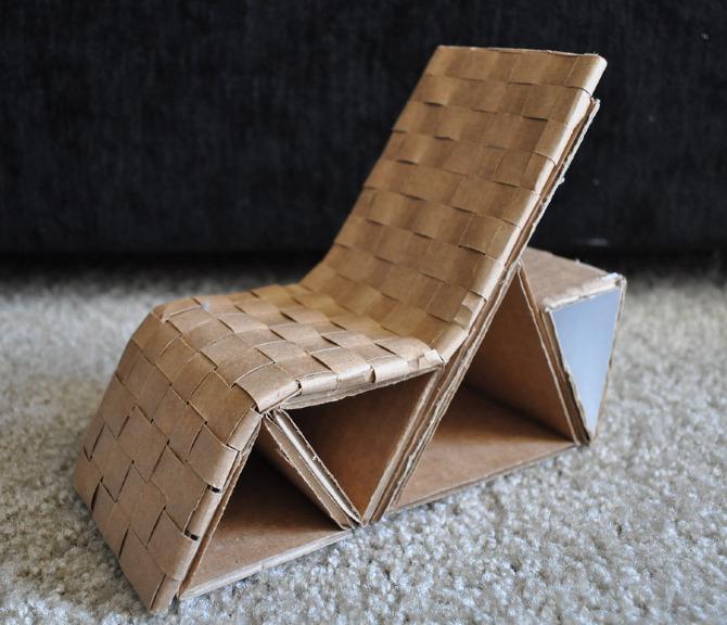 Cardboard Chair Danni Design