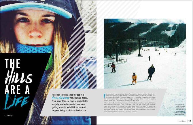 Magazine Layouts - Cassie Amicone